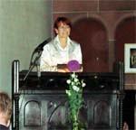 Edelgard Bulmahn in der Bethlehemkirche