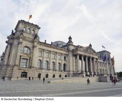 Reichstagsgebäude Westportal