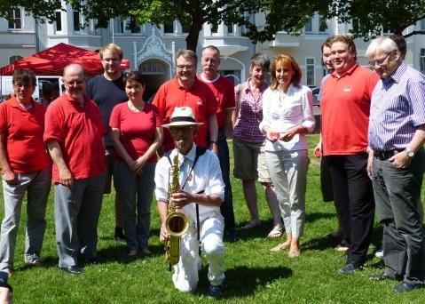 Eb S _dstadt Juli 6 Saxophon