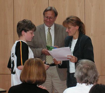Urkunde Schreibwettbewerb
